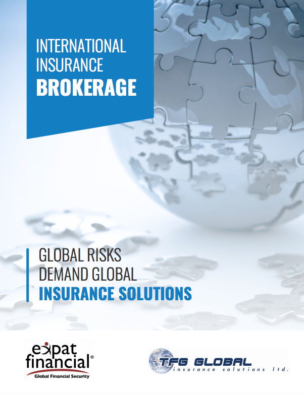 International Health Insurance brochure