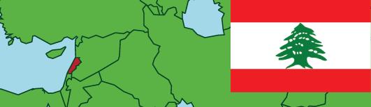 Lebanon-Vector-map