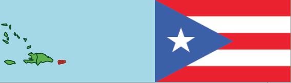 Puerto Rico a Caribbean island