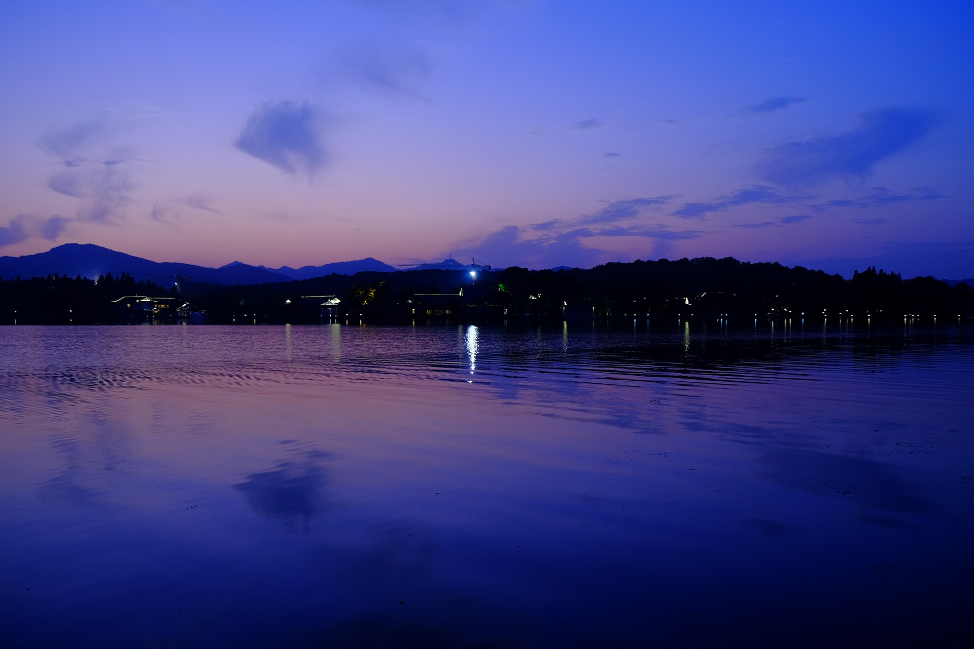 West Lake in Hangzhou, China
