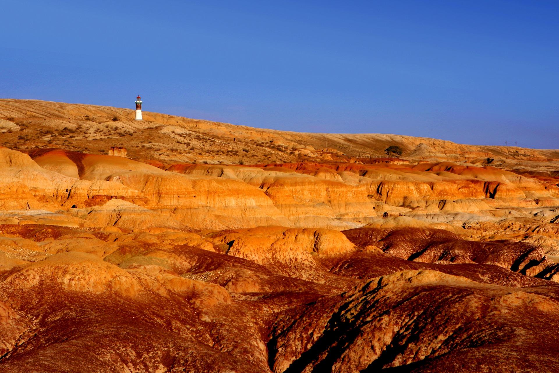 Danxia landscape, China