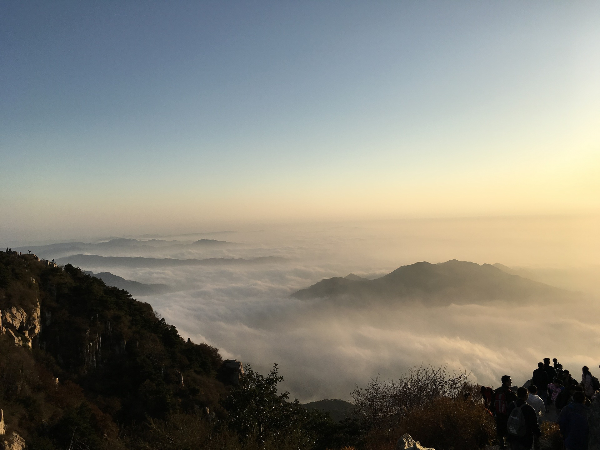 Taishan Mountain, China
